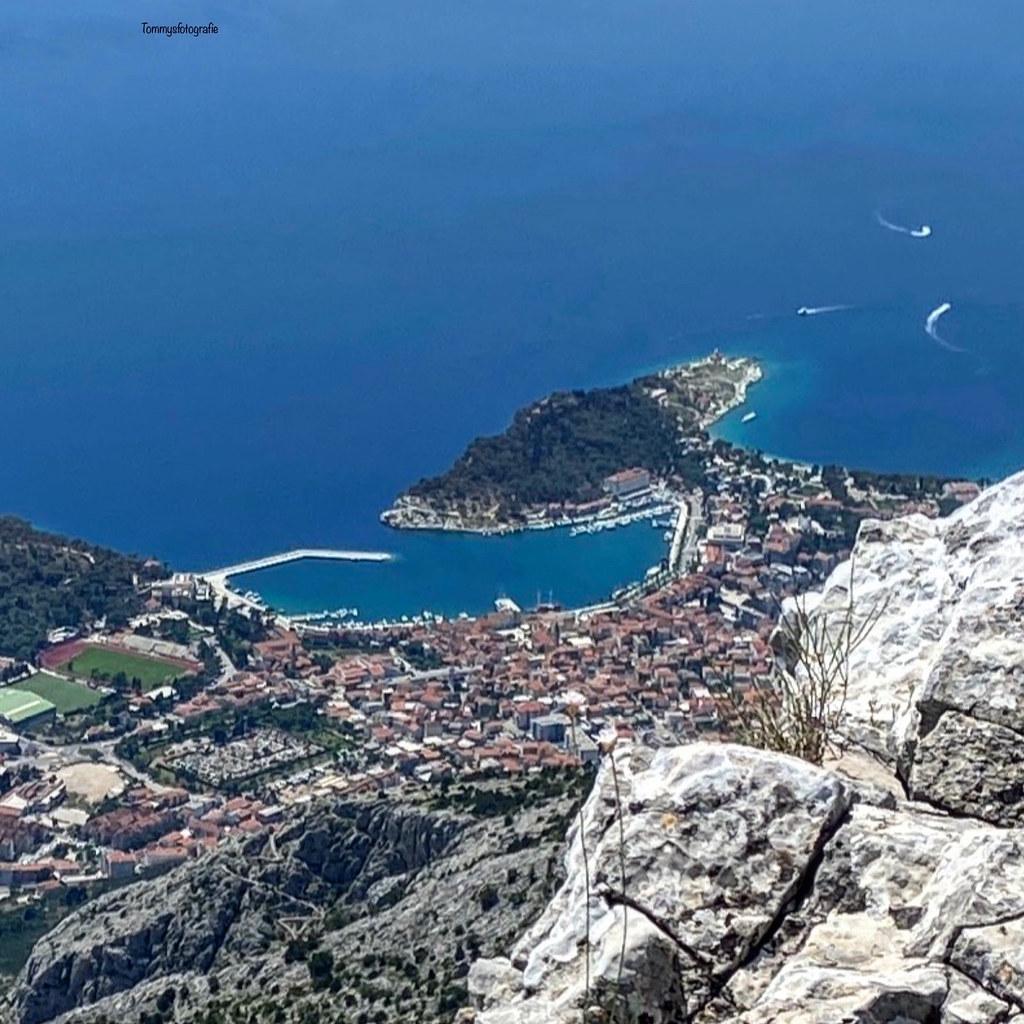Makarska from up.