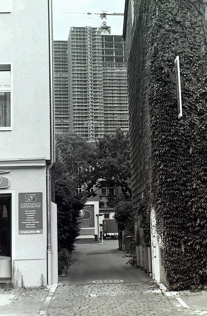 Berlin Steglitz Kreisel Hochhaus Baustelle 18.6.2020