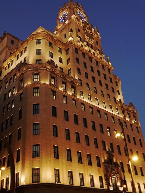 Edificio Telefónica - The Telefónica Building - Gran Vía - Madrid - Spain