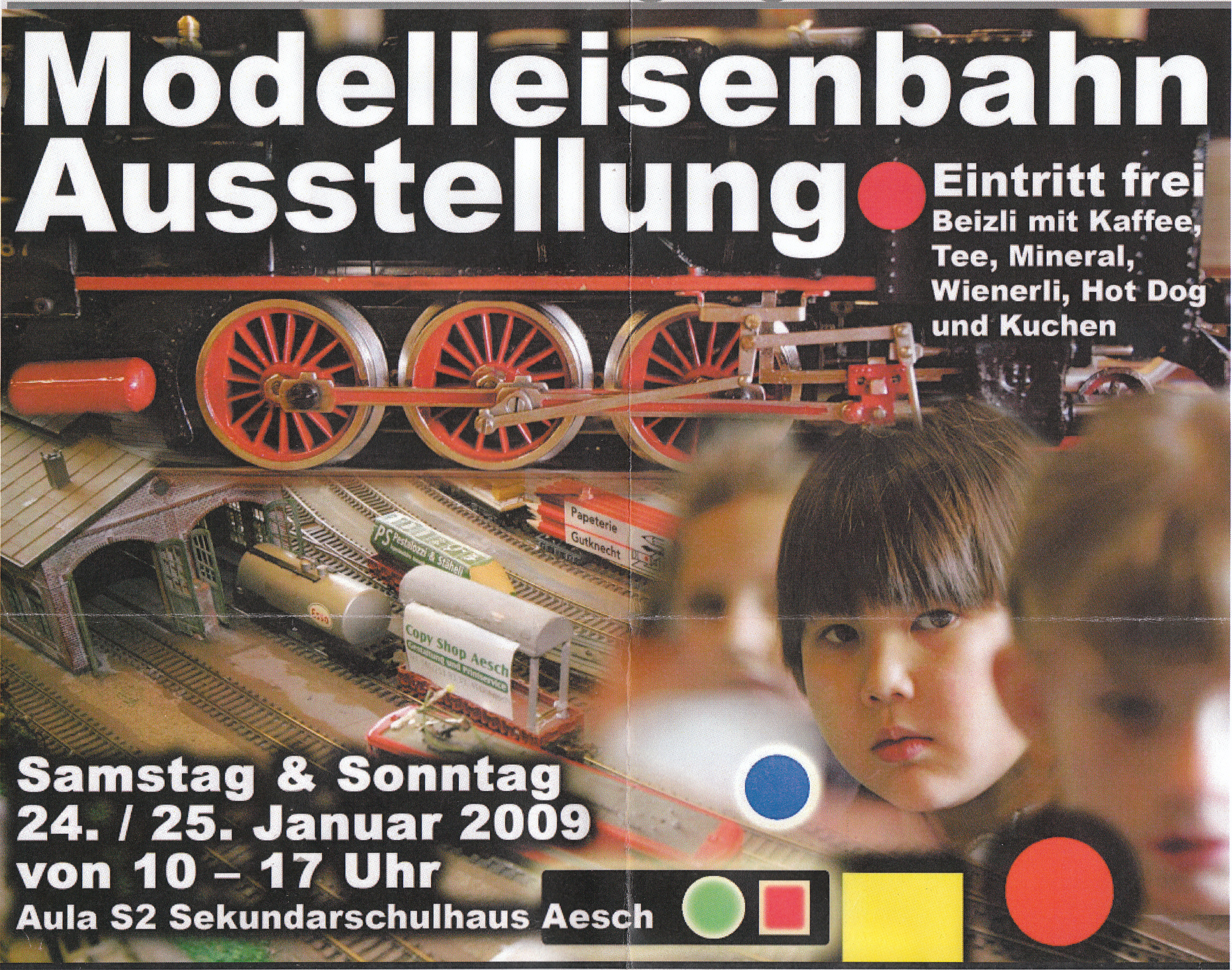 2009 Modellbahn Ausstellung MSA Aesch
