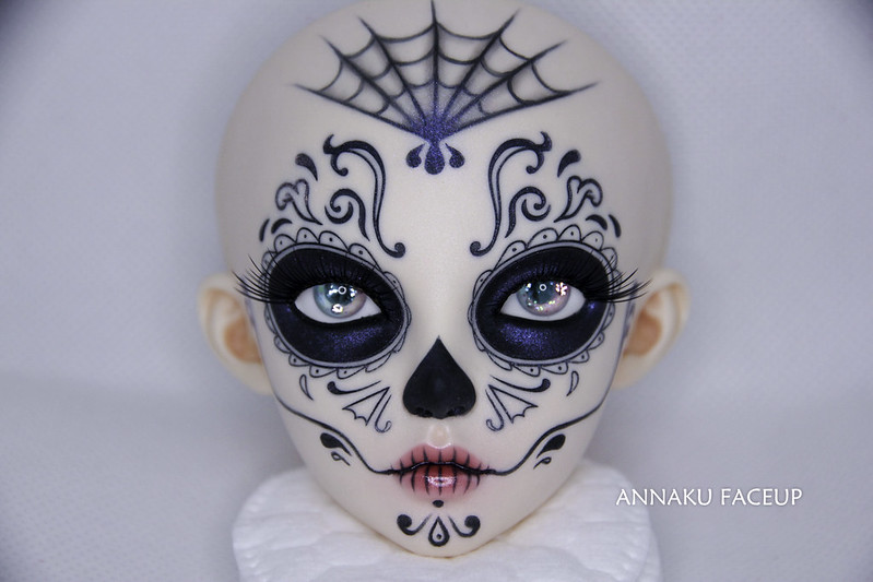Feeple Halloween event 2019 head faceup - Calavera