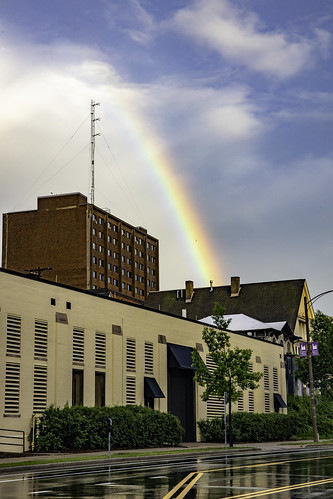 Downtown Rainbow | by Vincent Buckley