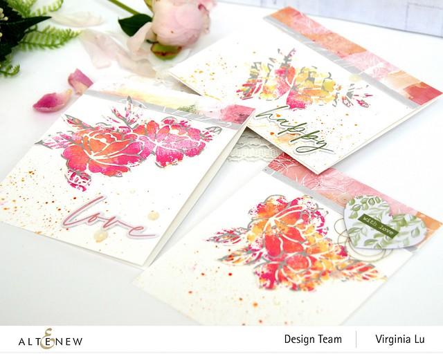 Altenew-SpringRoseDieSet-WatercolorFrameStampSet #6