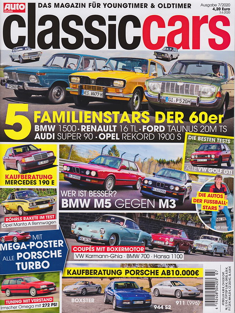 Auto Zeitung - Classic Cars 7/2020