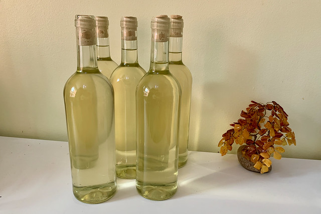 Bottled wine