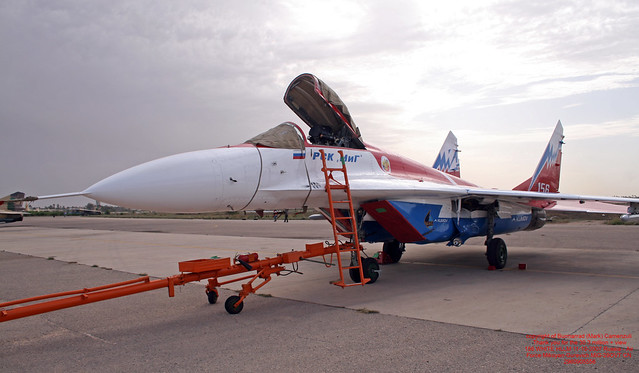 156 WHITE HLLM 11-10-2007 Russia - Air Force Mikoyan-Gurevich MiG-29OVT CN 2960905556