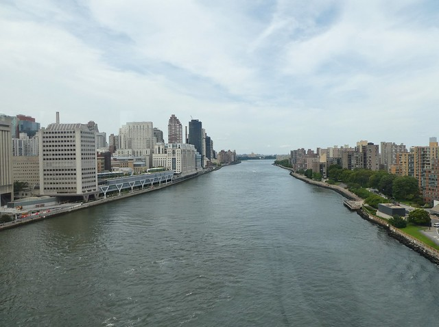 View from Roosevelt Island Tramway