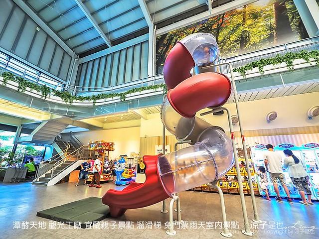 潭酵天地 觀光工廠 宜蘭親子景點 溜滑梯 免門票雨天室內景點