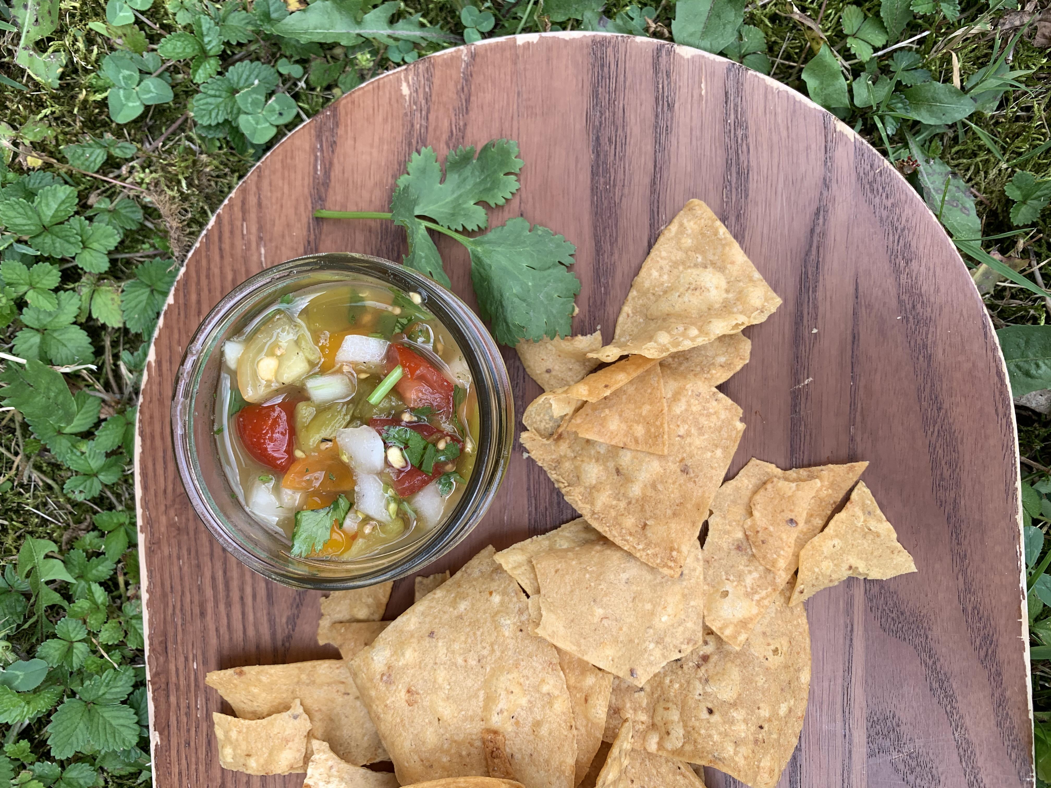 Summer Salsa // flavors of the season {family recipe}