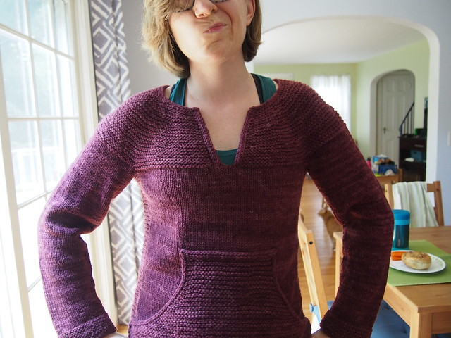 Baggy sleeves - gonna rip and reknit!