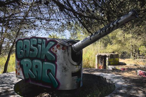Basik raq cannon #urbex #almada #streetart #portugal