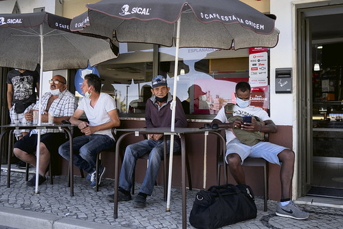 Deconfinement socialization #street #trafaria #portugal