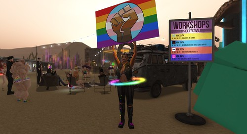 ️🌈 2020 Pride Festival in Second Life, the final day