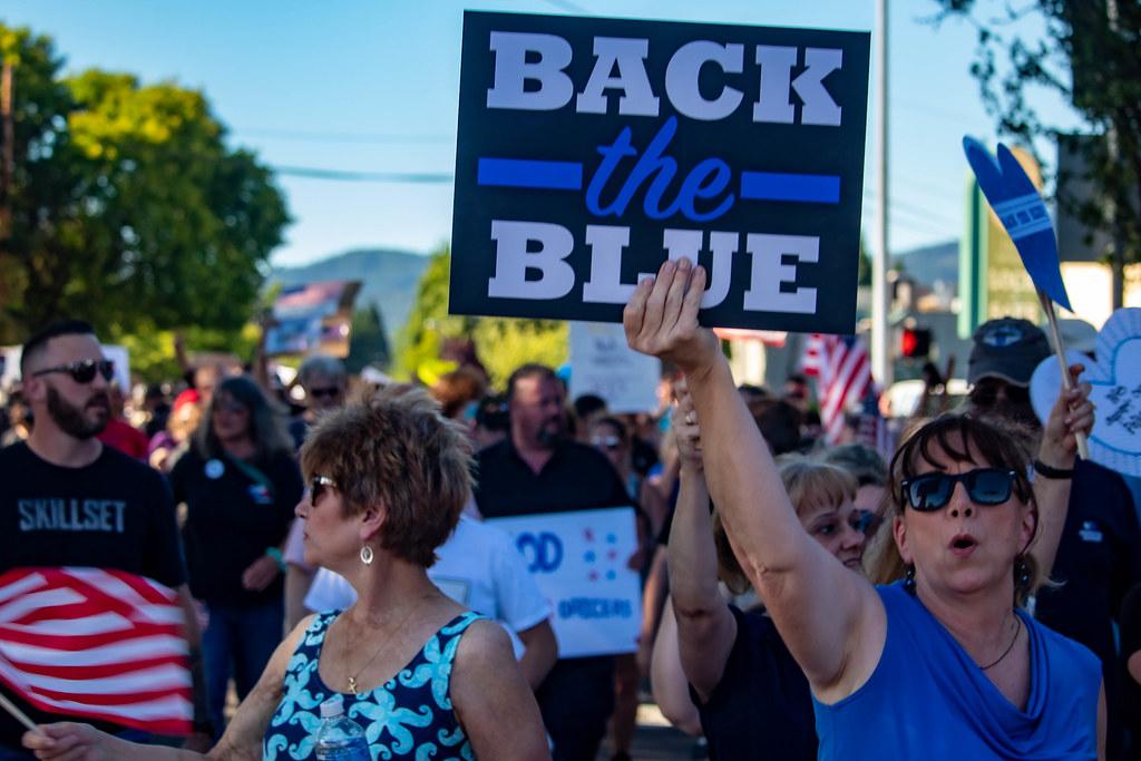 Blue Lives Matter meets ACAB