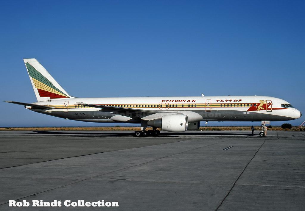 Ethiopian Airways B757-260 ET-AKC