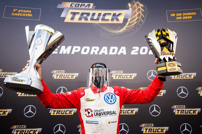 28/06/20 - Beto Monteiro vence etapa 2 e fatura do título da Copa em Cascavel - Fotos: Duda Bairros e Vanderley Soares
