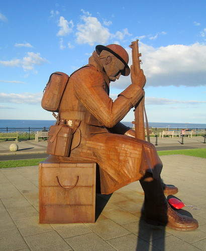 Tommy at Seaham, Side View