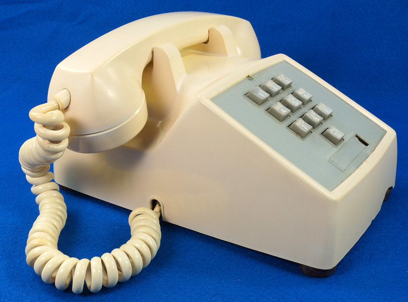 RD21587 RARE 10 Button 1968 1500D Western Electric Telephone with G3 Handset DSC08451