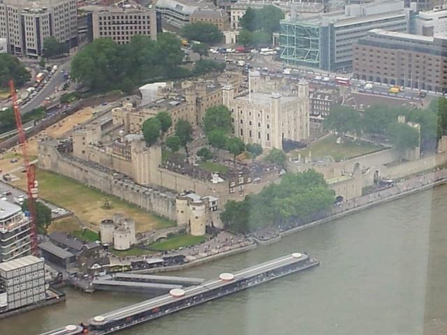 > Tower of London, Medieval Castle, St Katherine's, London.