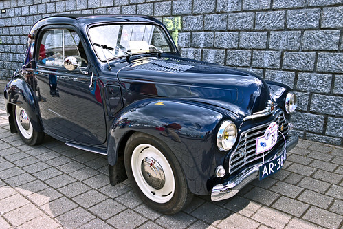 SIMCA 6 Coupé Biplace 1950 (6448) | by Le Photiste