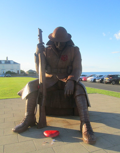 Statue of Tommy at Seaham