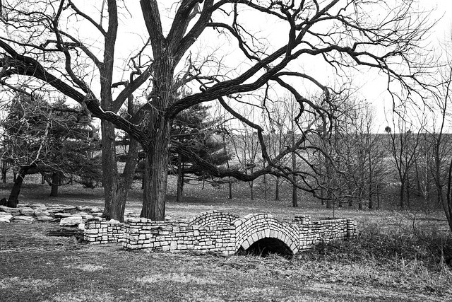 Dilapidated Bridge