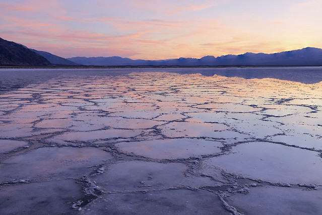 Sunset at Badwater Basin (Explore)
