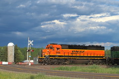 BNSF 1568 at State Line