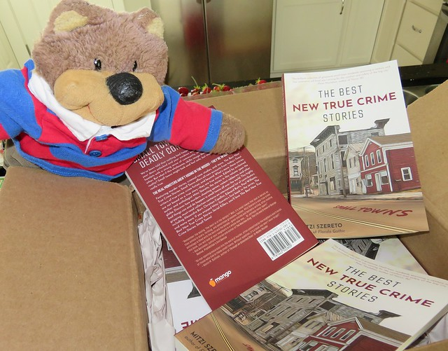 Teddy Tedaloo gets his paws on The Best New True Crime Stories: Small Towns