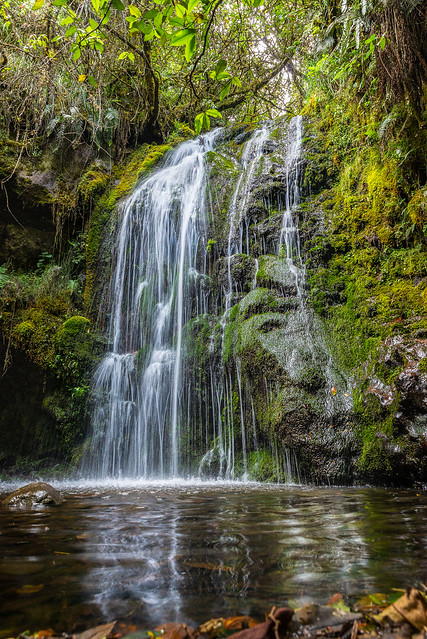 Sachacuy waterfall (explored)