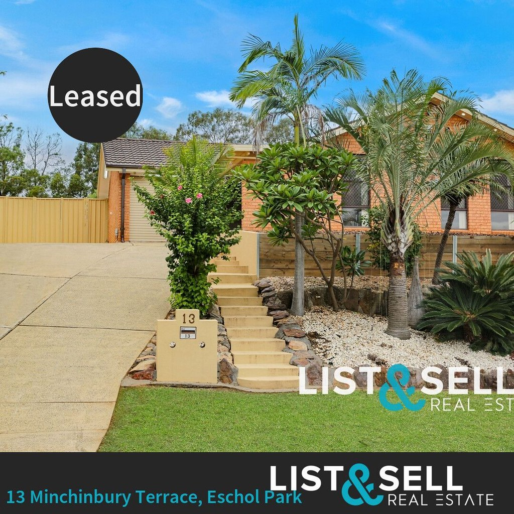 🏡 Leased | 13 Minchinbury Terrace, Eschol Park⠀ 3  | 1 🛀 | 9 🚗⠀ ⠀ IMMACULATE CONDITION! - Get ready, for a home that has everything and more.⠀ ⠀ Situated within minutes walk to Eagle Vale Shopping Centre & Recreation Centre