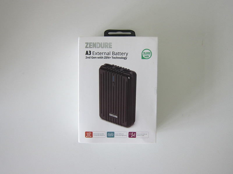 Zendure A3 Power Bank - Box Front