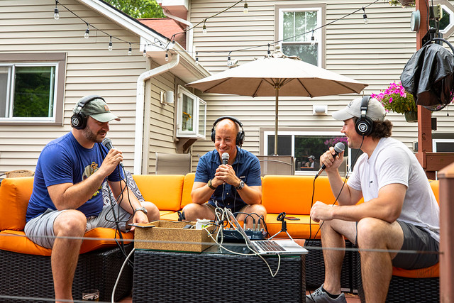 Recording The Meatbucket Podcast