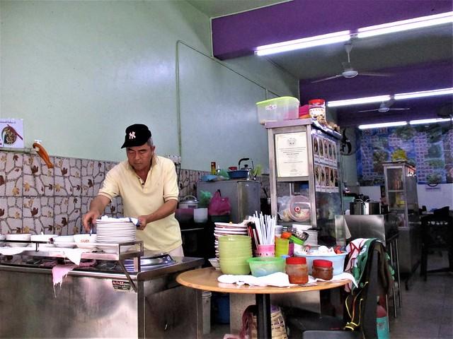Bai Wei Xuan Cafe kampua mee stall