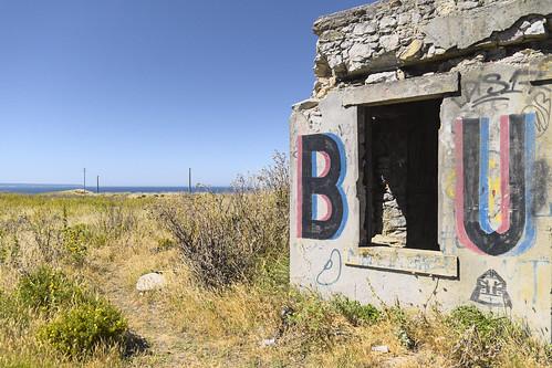 B U #urbex #almada #streetart #portugal