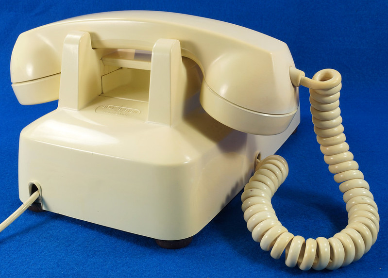 RD21587 RARE 10 Button 1968 1500D Western Electric Telephone with G3 Handset DSC08452