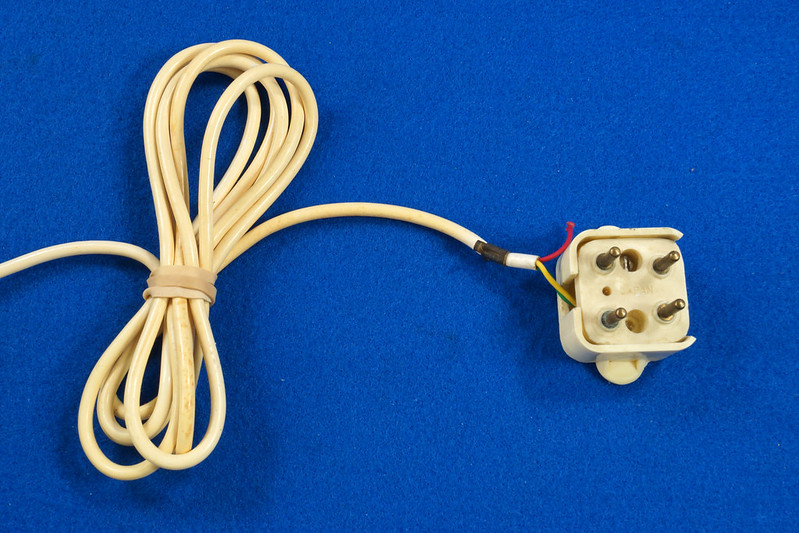 RD21587 RARE 10 Button 1968 1500D Western Electric Telephone with G3 Handset DSC08449