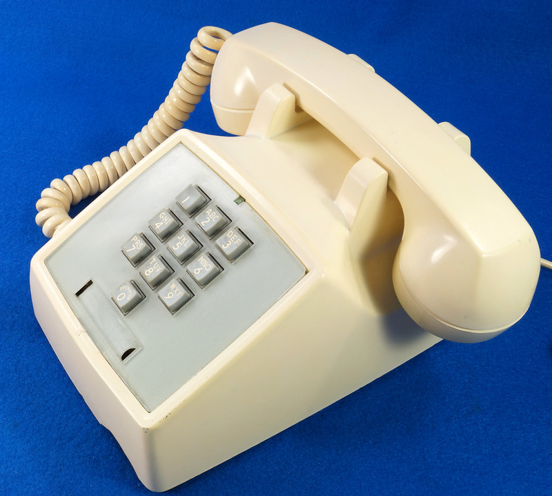 RD21587 RARE 10 Button 1968 1500D Western Electric Telephone with G3 Handset DSC08445