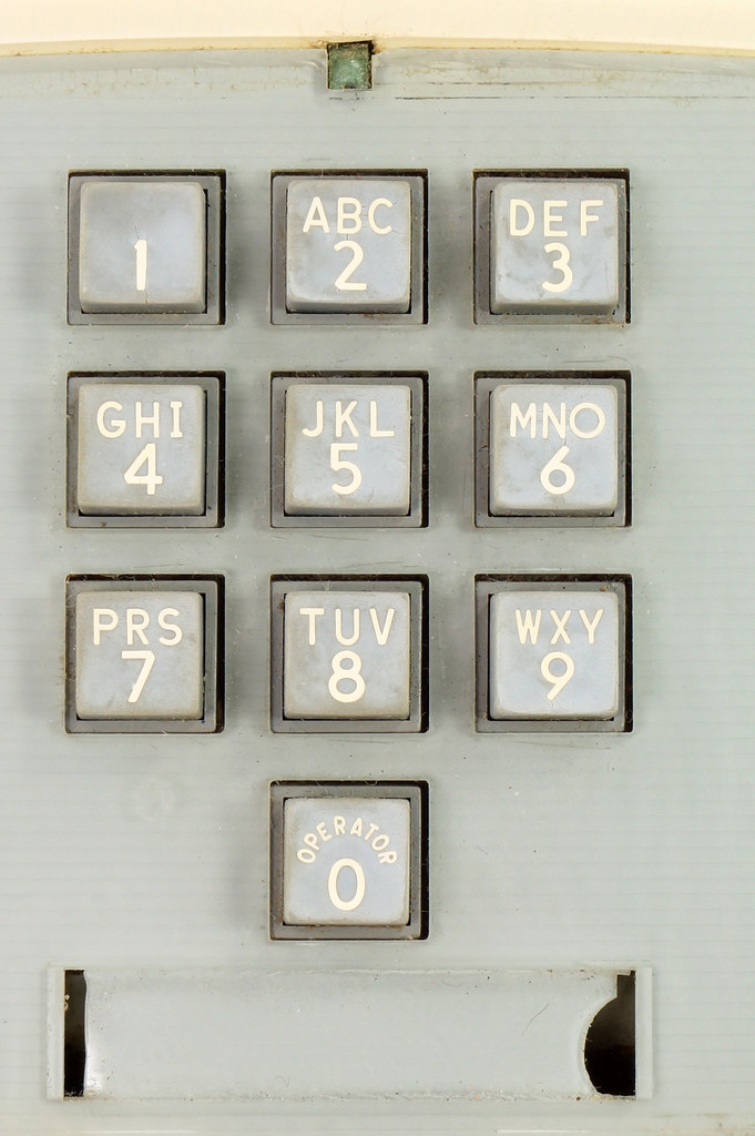 RD21587 RARE 10 Button 1968 1500D Western Electric Telephone with G3 Handset DSC08444