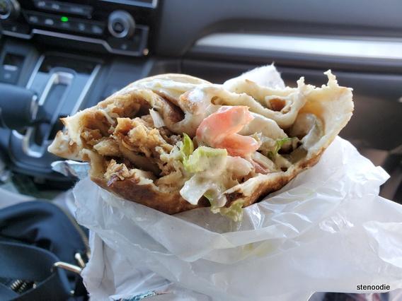Me Va Me chicken shawarma