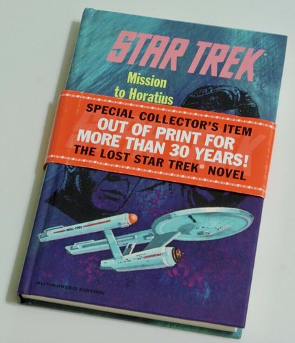 Reprinted Star Trek novel Mission to Horatius