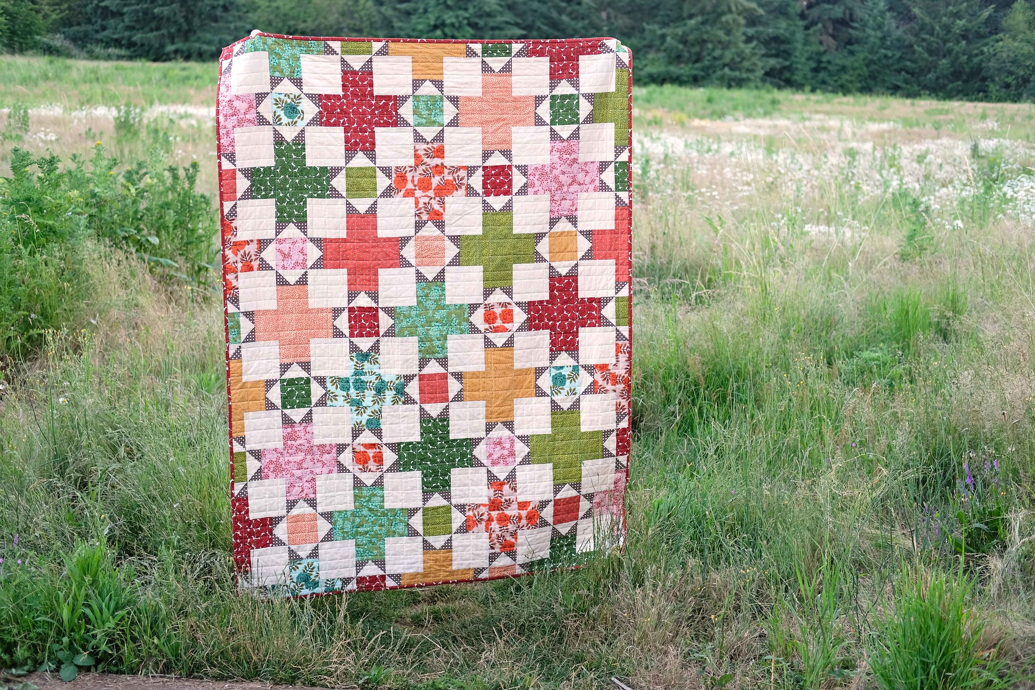 The Hazel Quilt Pattern - Kitchen Table Quilting