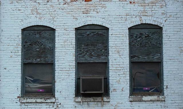 windows at a warehouse