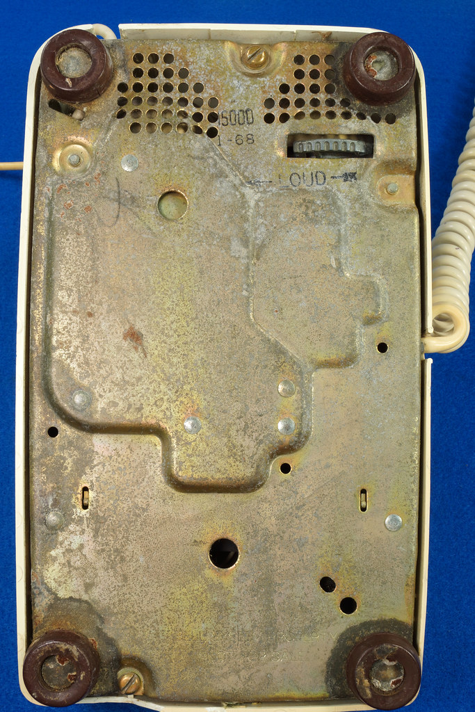 RD21587 RARE 10 Button 1968 1500D Western Electric Telephone with G3 Handset DSC08455