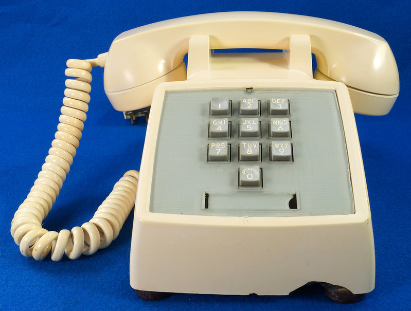 RD21587 RARE 10 Button 1968 1500D Western Electric Telephone with G3 Handset DSC08450