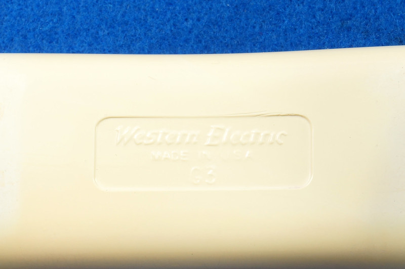 RD21587 RARE 10 Button 1968 1500D Western Electric Telephone with G3 Handset DSC08448