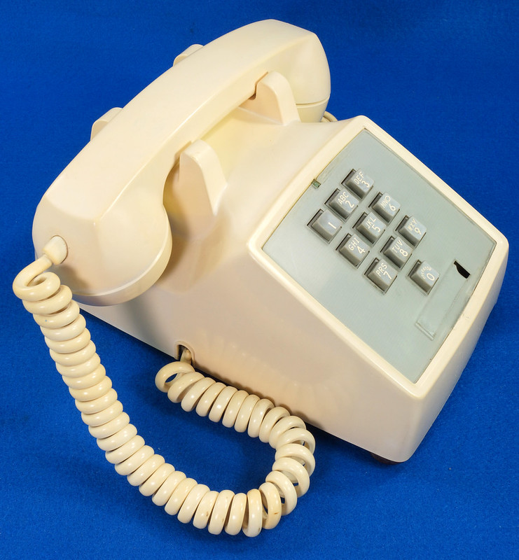 RD21587 RARE 10 Button 1968 1500D Western Electric Telephone with G3 Handset DSC08446