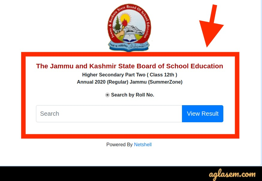 JKBOSE 12th Result 2020 Annual Regular Jammu Division