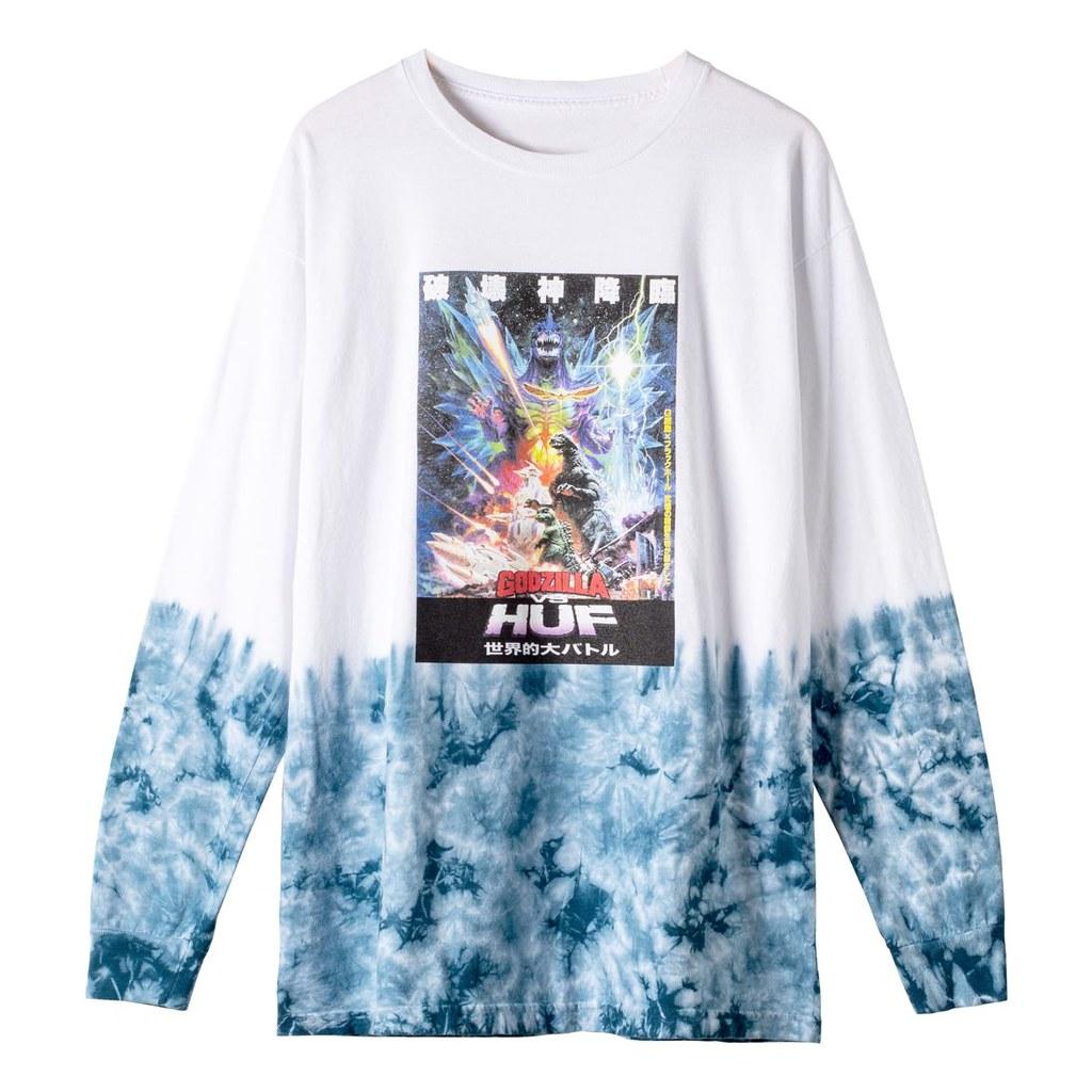 【HUF × 東寶】怪獸之王哥吉拉主題聯名服飾、滑板、軟膠「GODZILLA vs. HUF」系列煞氣上陸!