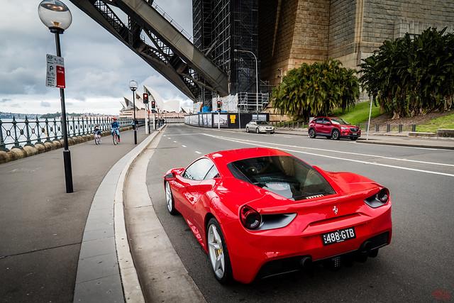 Ferrari at Sydney Harbour